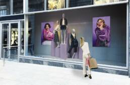 Monitor in Vetrina | Marketing DIsplay