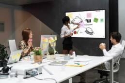 Monitor touchscreen | Marketing Display