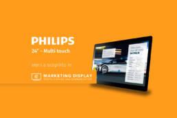 philips-24''-touchscreen-Marketing-Display