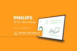 philips-55''-touchscreen-Marketing-Display